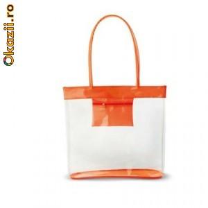 Артикул: KC6347-10 Прозрачная пляжная сумка Материал: PVC Размеры...