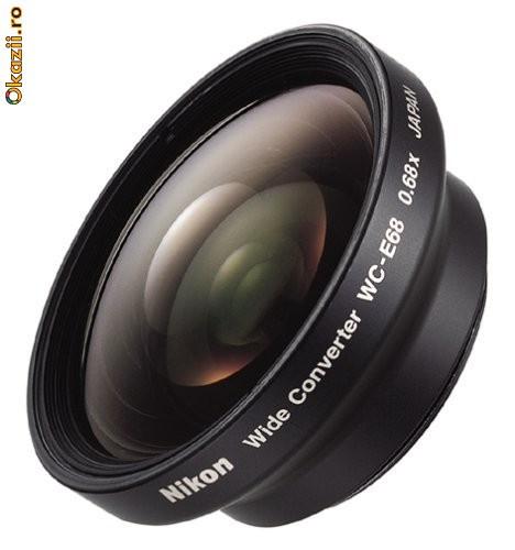 Широкоугольный объектив Nikon WC-E68: купить Nikon E68, цены...